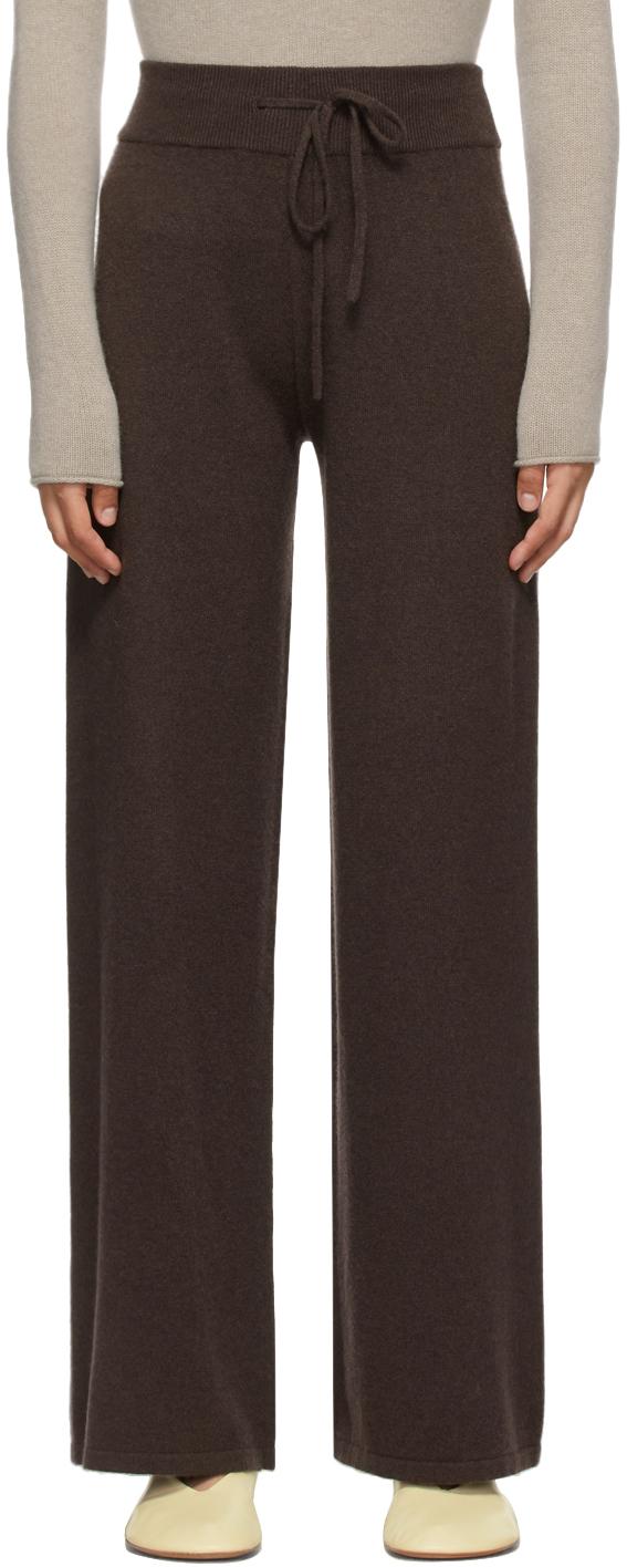 Brown Cashmere 'The Sofi' Lounge Pants