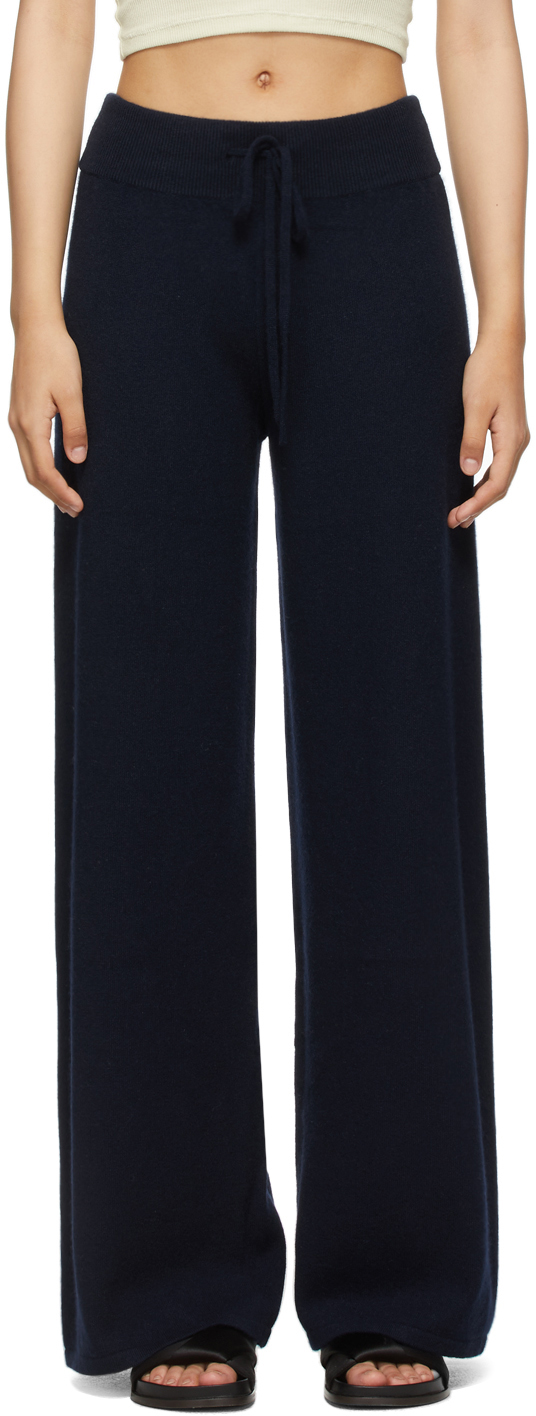 Navy Cashmere 'The Sofi' Lounge Pants