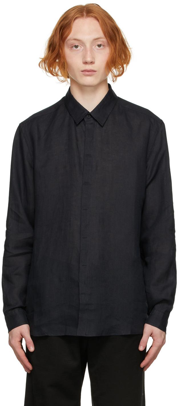 Black Linen Shirt