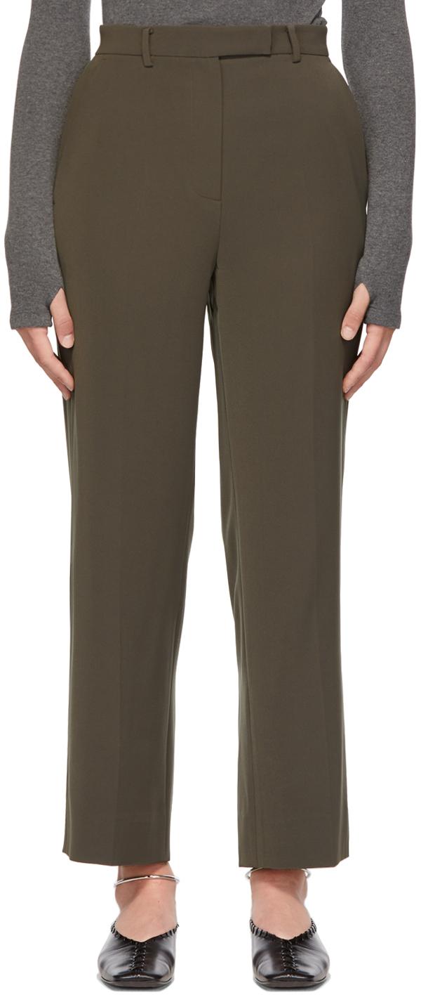 Khaki Ell Trousers