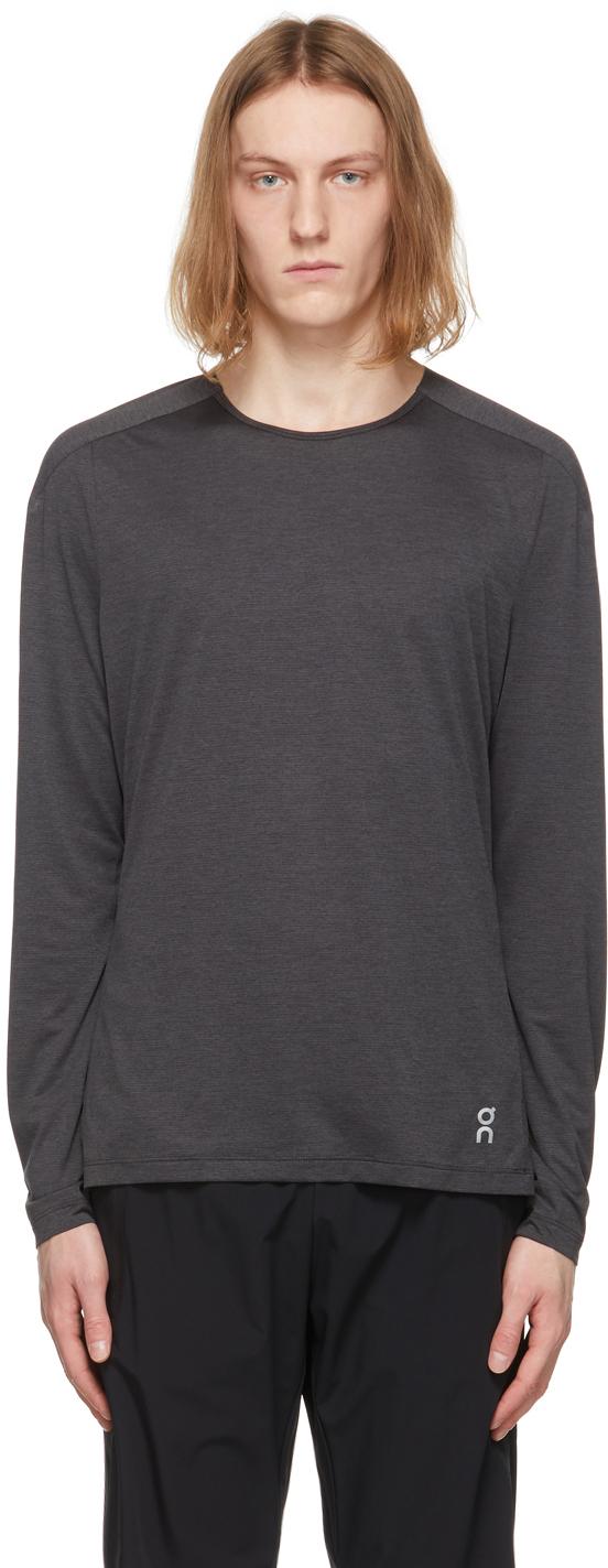 On 灰色 Performance 长袖 T 恤