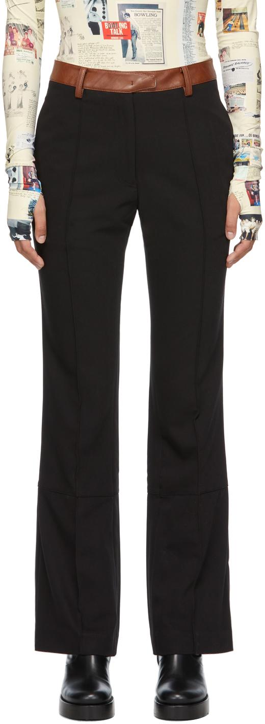 Black Carolyn Trousers