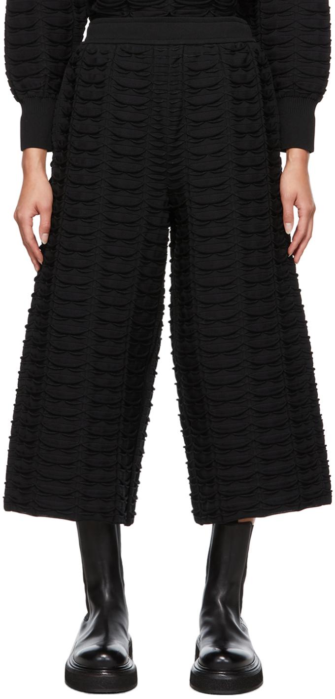Black Facade Lounge Pants