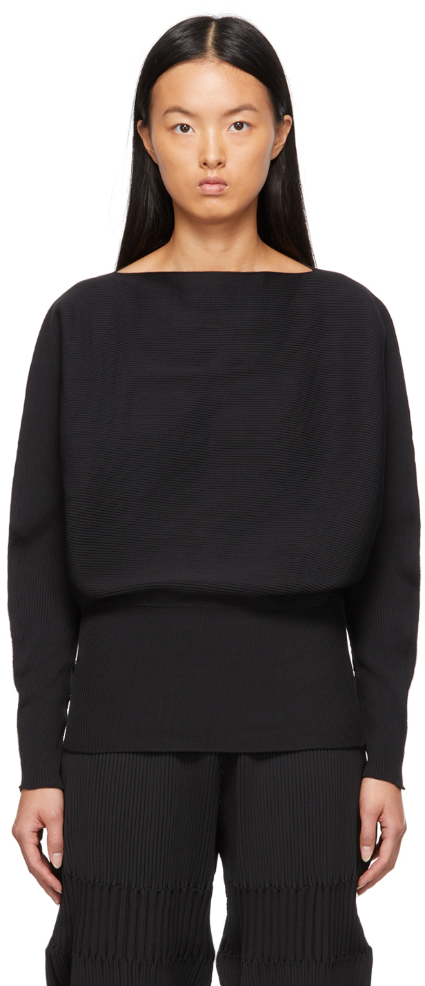 Black Pottery Sweater