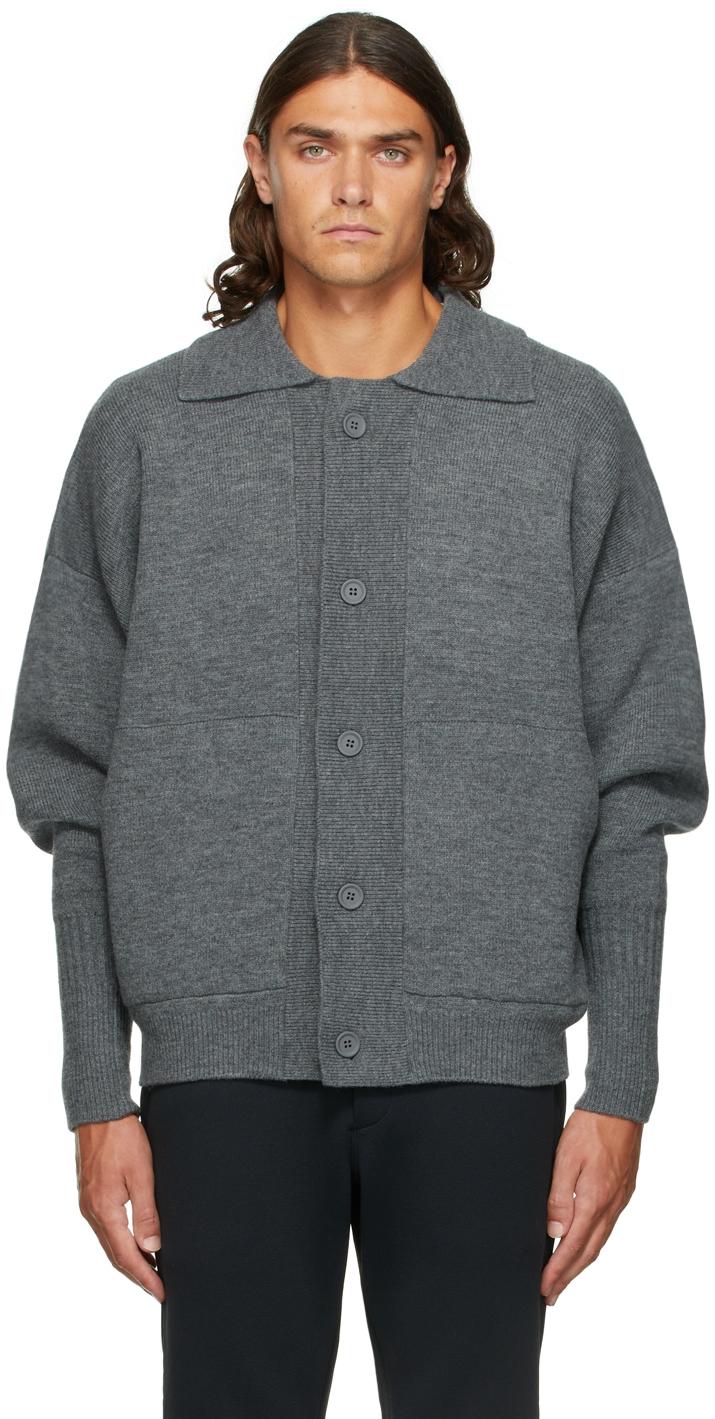 Grey Wool Milan Jacket
