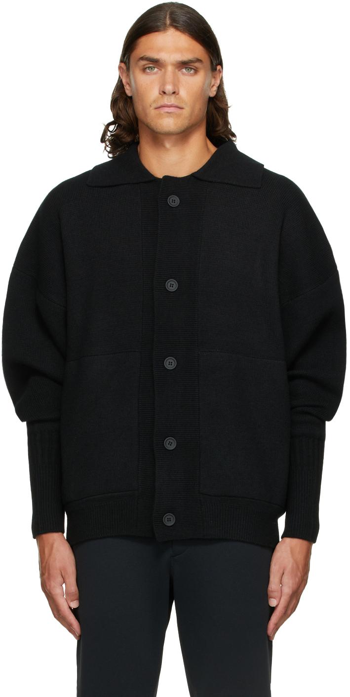 Black Wool Milan Jacket