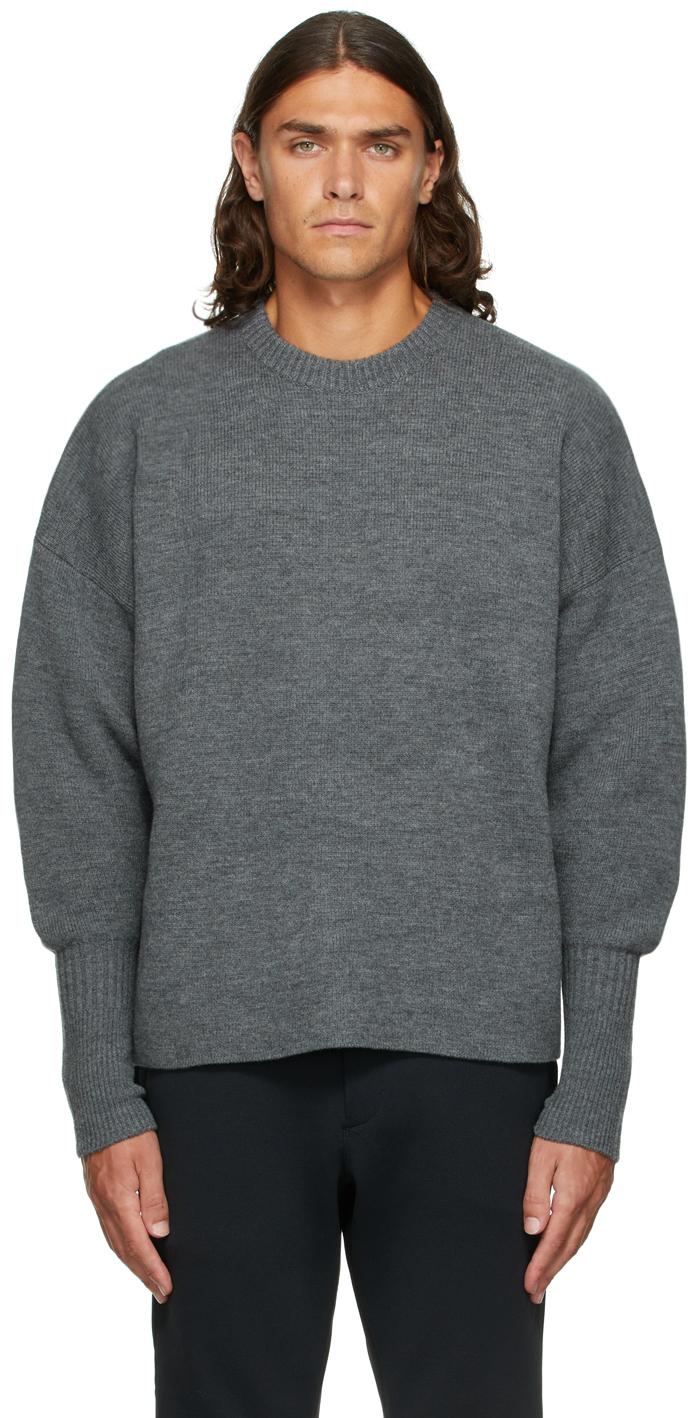 Grey Wool Milan Sweater