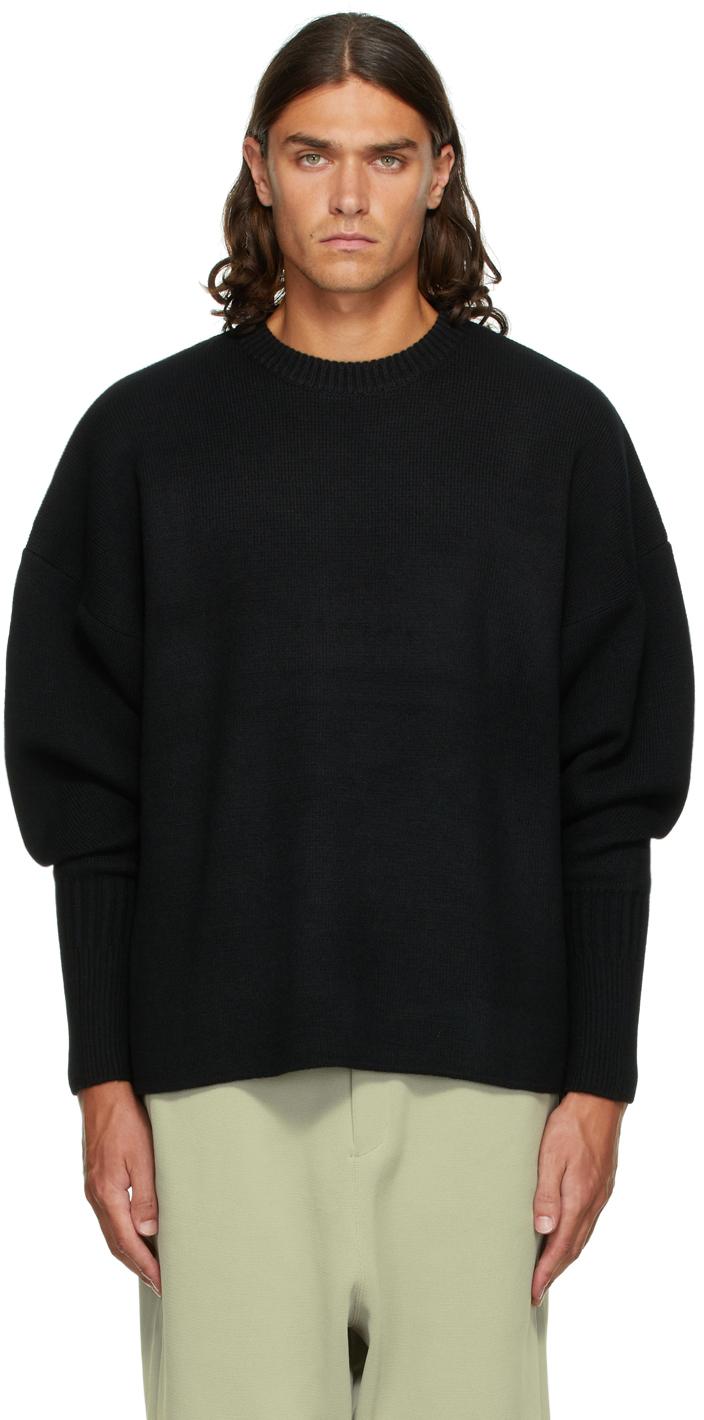 Black Wool Milan Sweater
