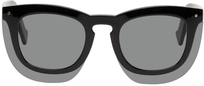 Black Inbox Sunglasses