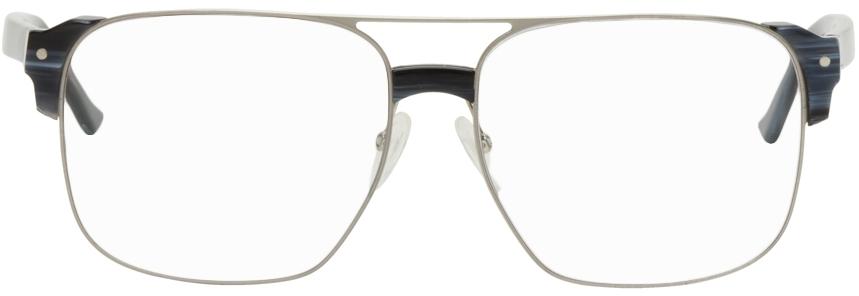 Silver Cast Glasses