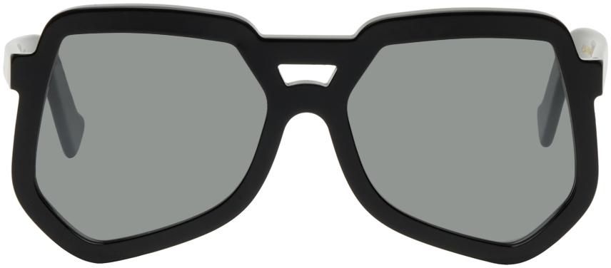 Black Clip Sunglasses