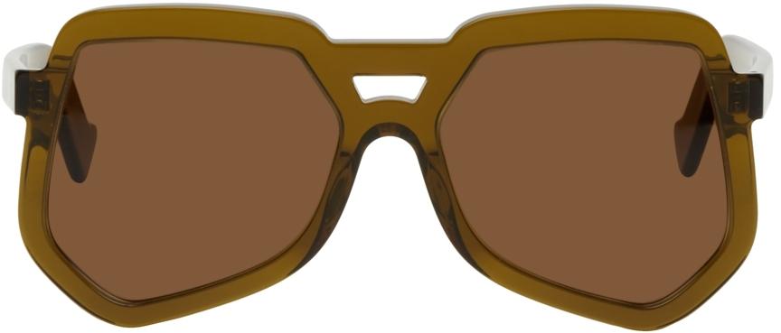 Brown Clip Sunglasses