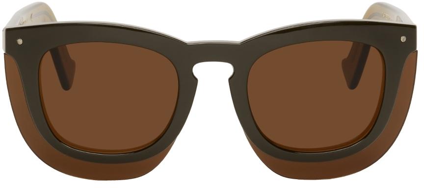 Green Inbox Sunglasses