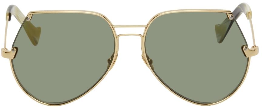 Gold Embassy Sunglasses