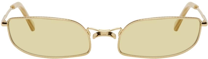 Gold Fait Sunglasses