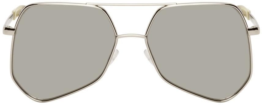 Silver Megalast Sunglasses