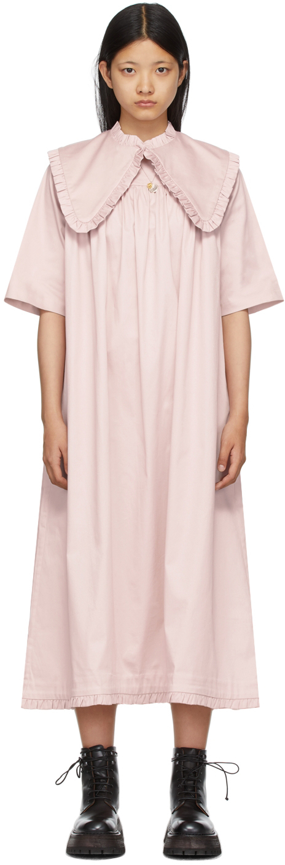 Pink Lourdes Dress