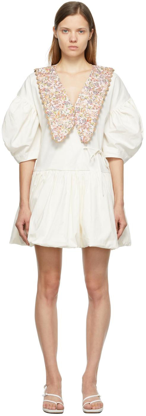 Off-White & Pink Victoria Dress