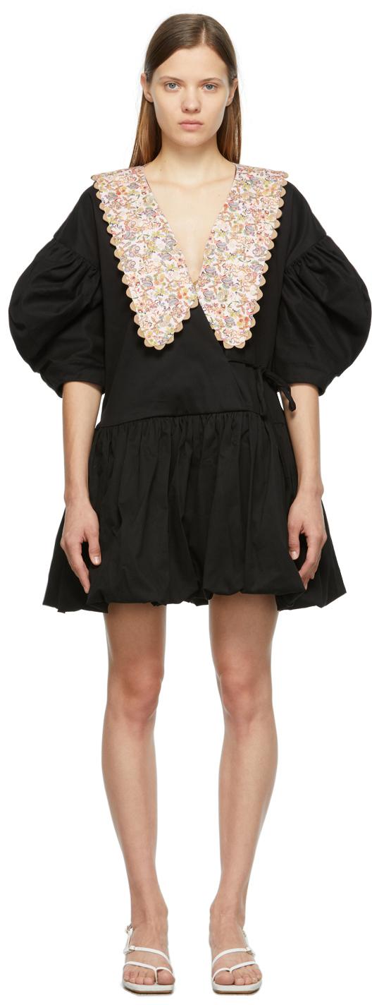Black & Pink Victoria Dress
