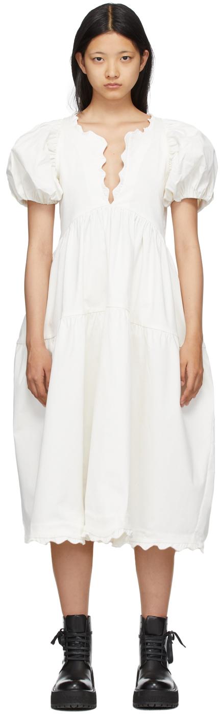 White Leana Dress