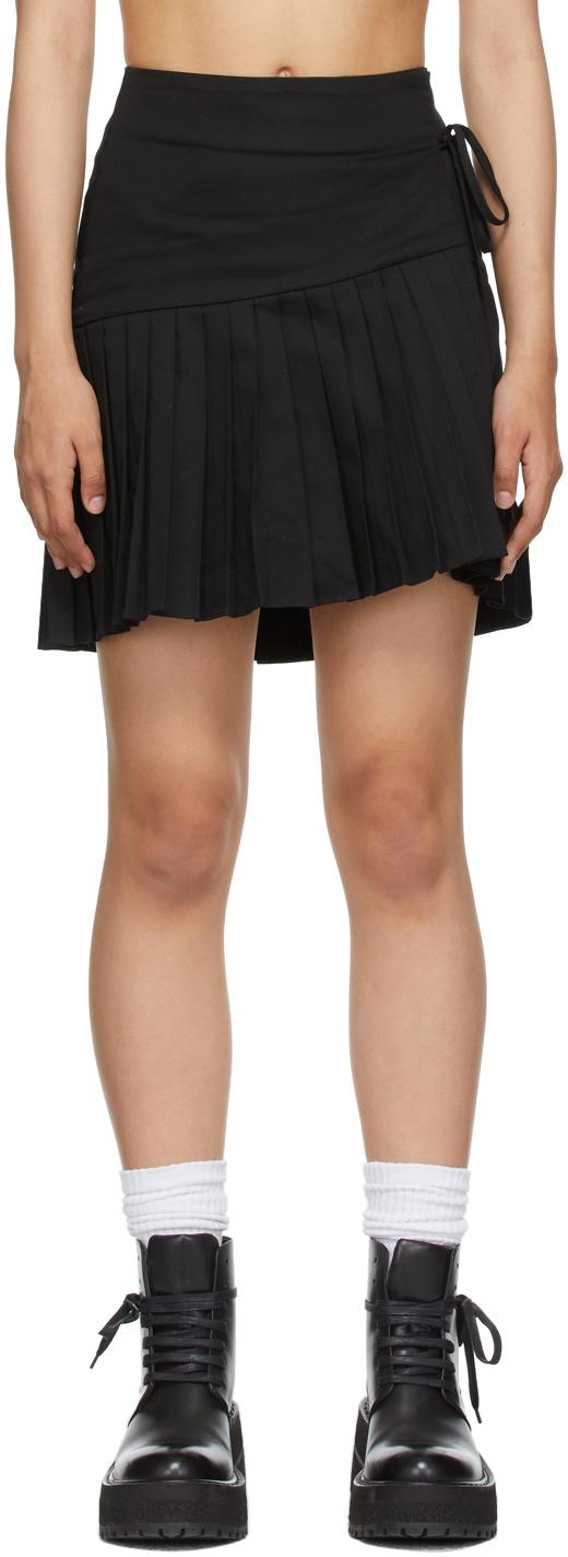SSENSE Exclusive Black Regina Wrap Skirt