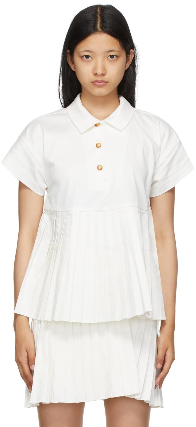 White Aida Polo
