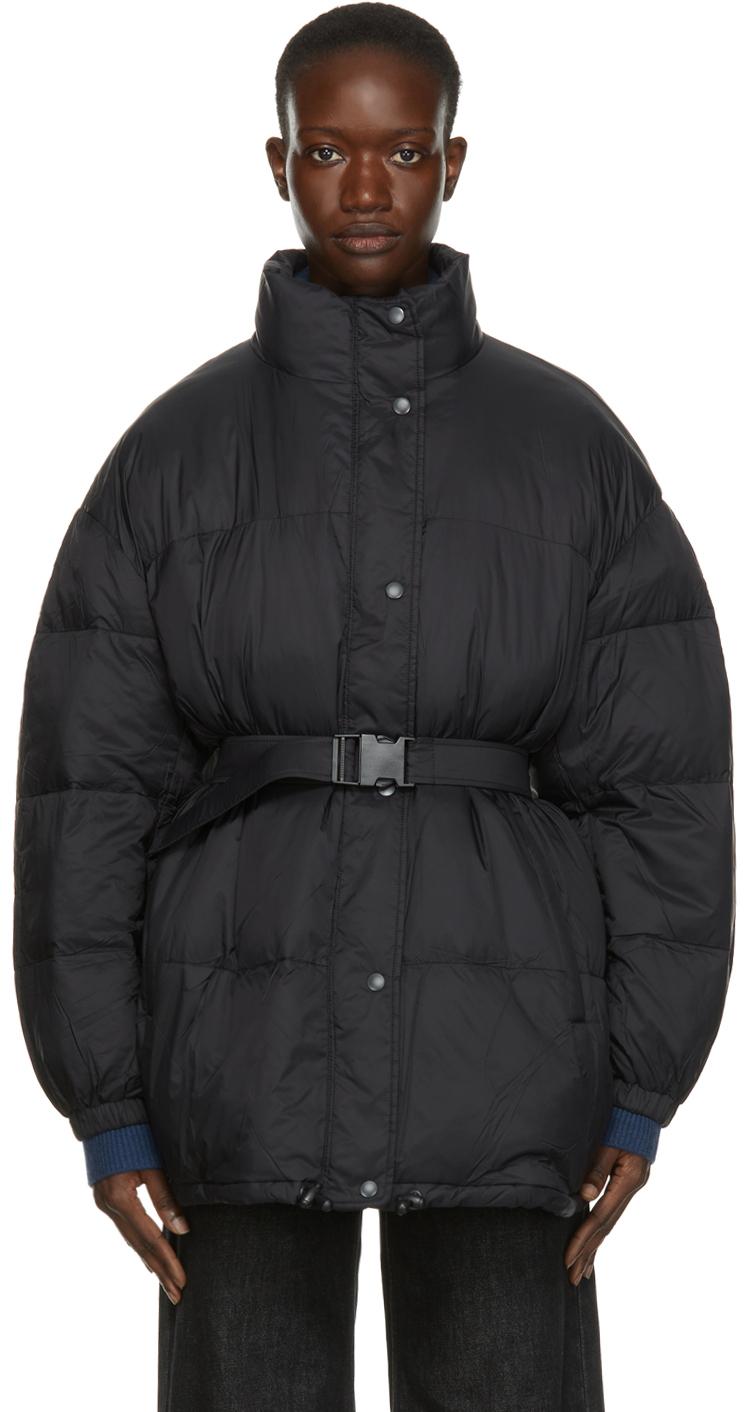 Isabel Marant Etoile Black Dilys Puffer Jacket