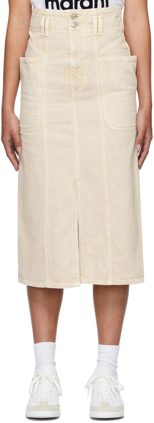 Isabel Marant Etoile Beige Toria Skirt