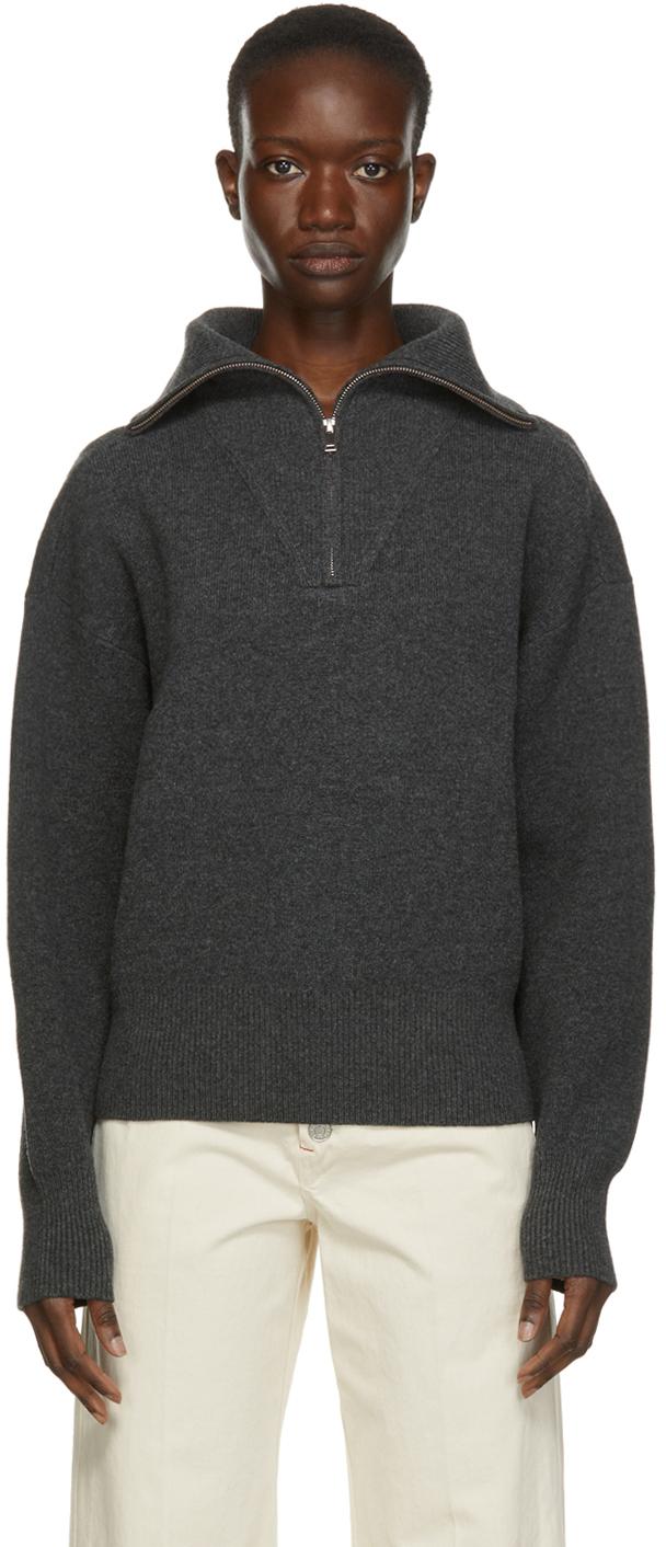 Isabel Marant Etoile Grey Fancy Sweater