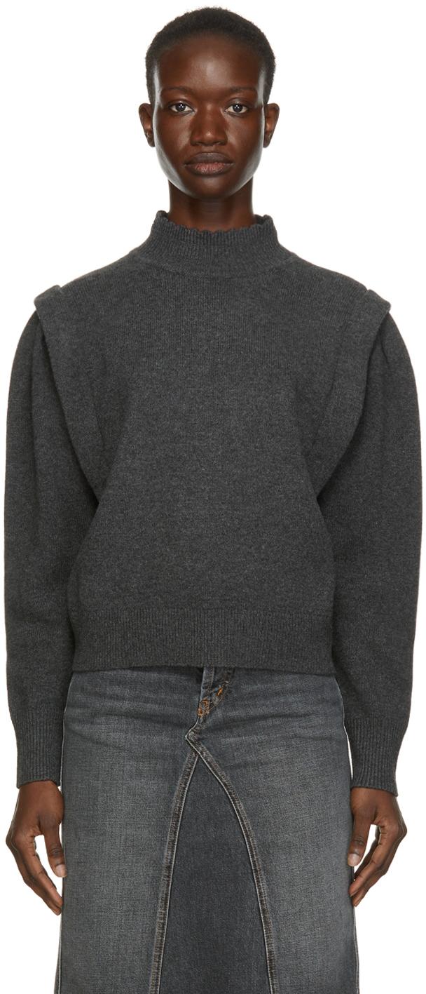 Isabel Marant Etoile Grey Lucile Sweater