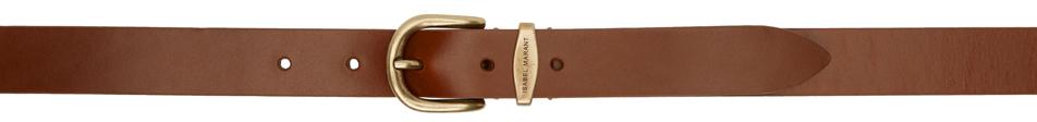 Brown Zadd Belt