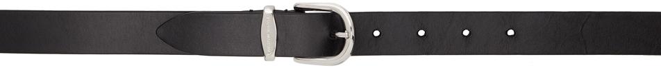 Black & Silver Zadd Belt