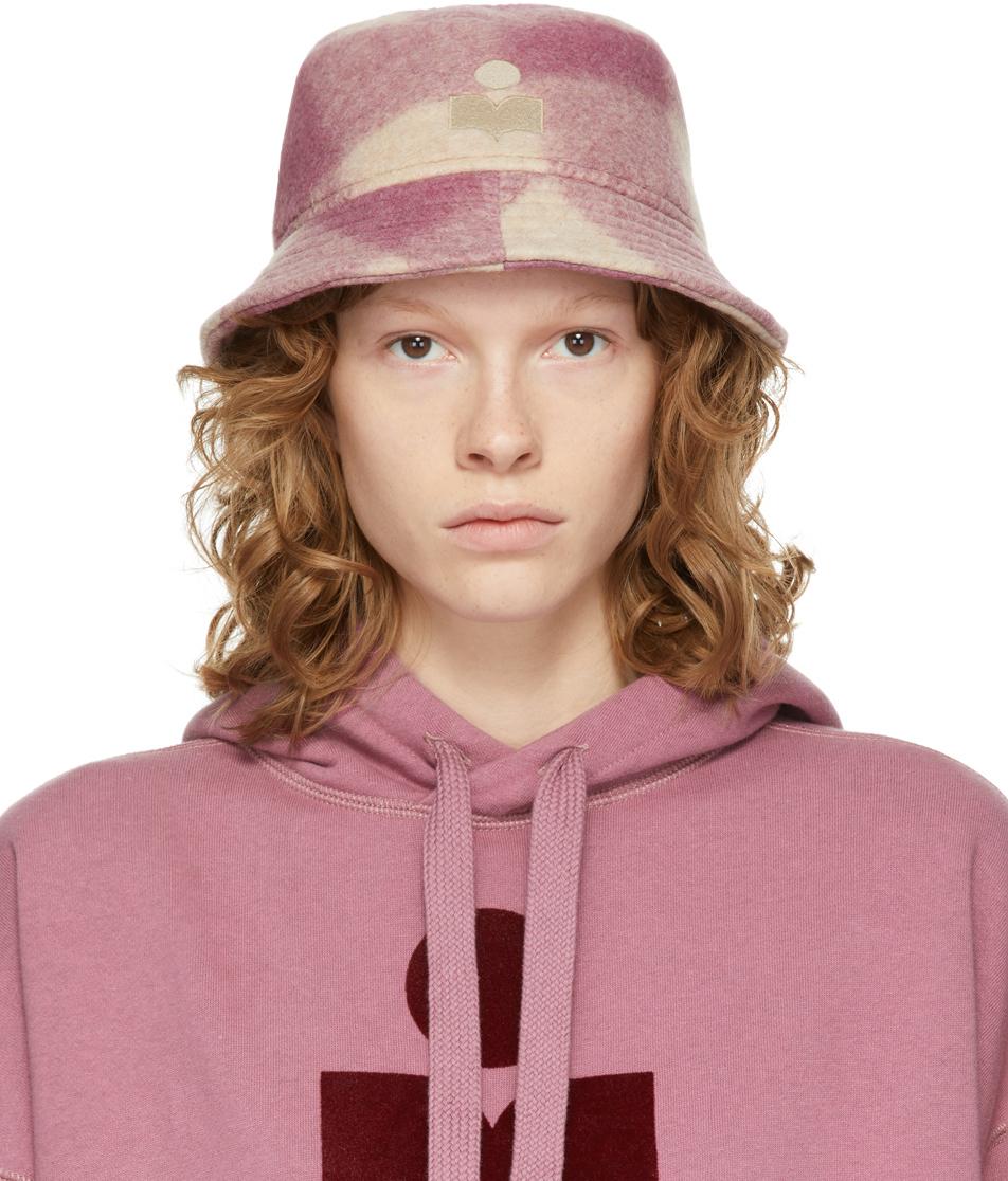 Pink Check Haley Bucket Hat