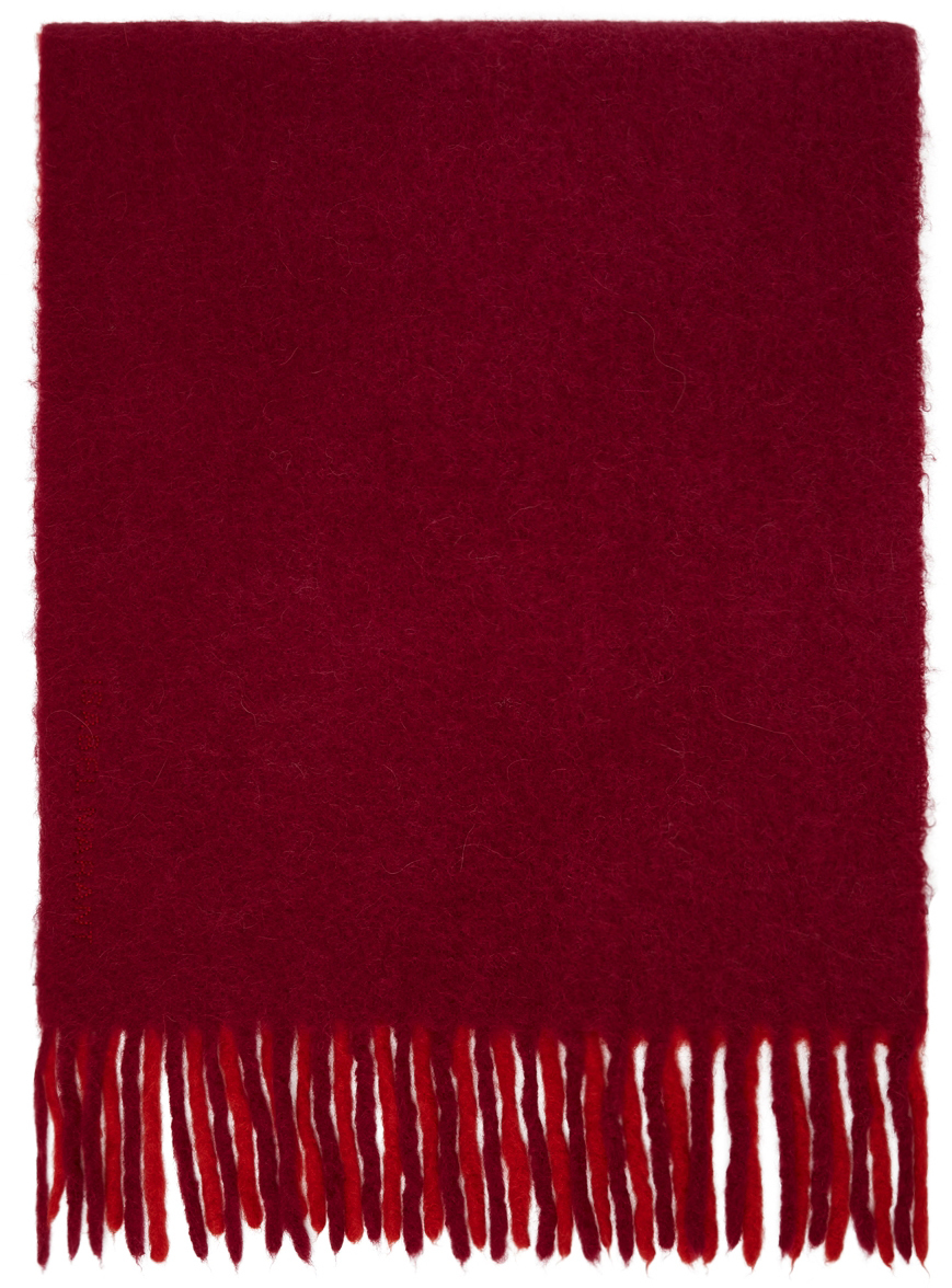 Pink & Red Firna Scarf
