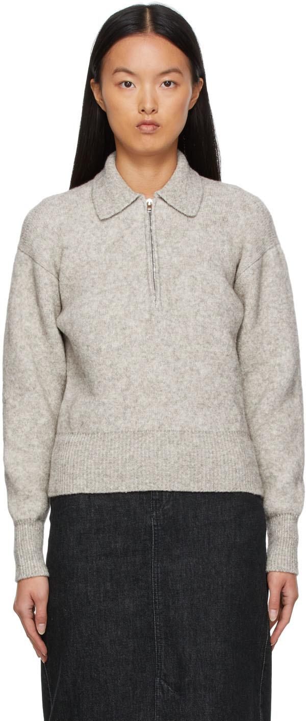 Knit Rane Zip Sweater