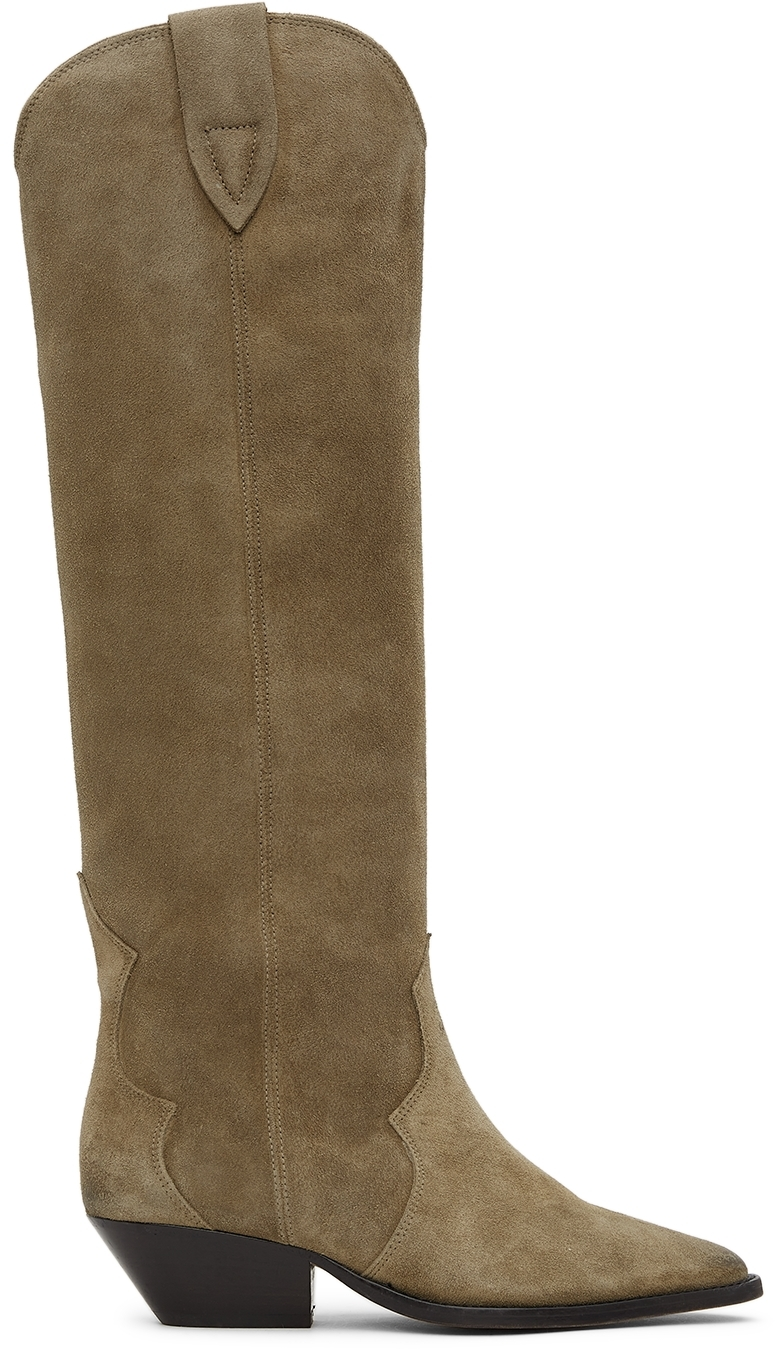 Taupe Denvee Tall Boots