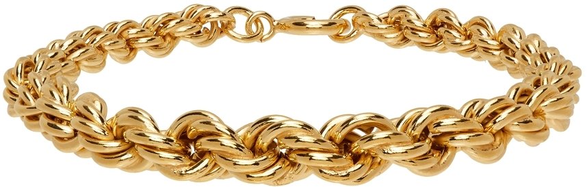 Gold Rope Chain Bracelet