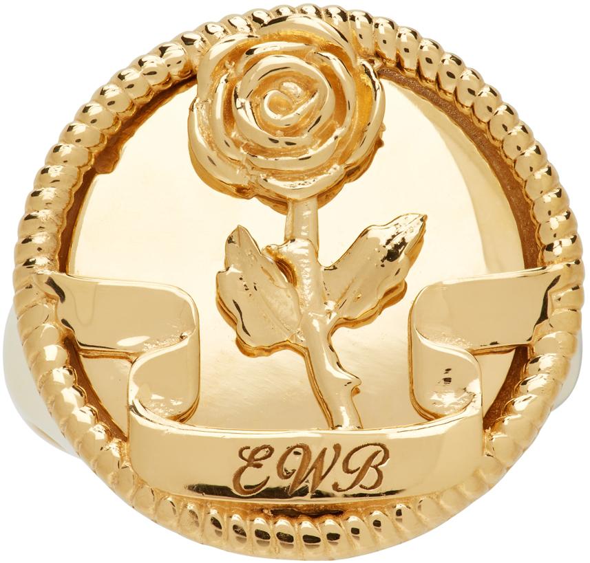 Gold EWB Rose Ring