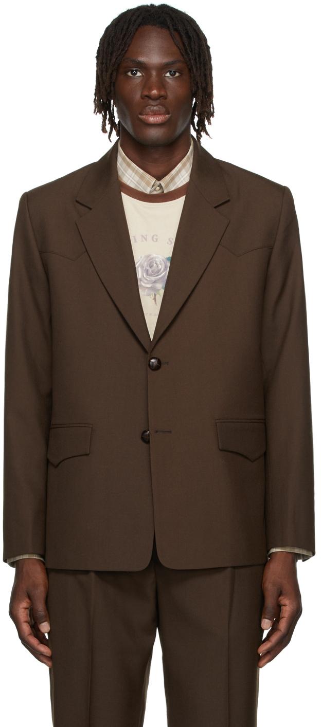 Brown Western Blazer