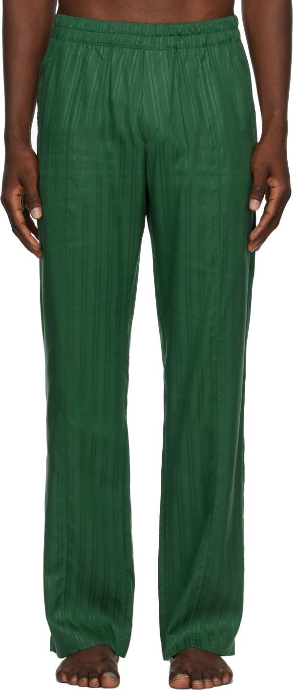 Green Lounge Pyjama Pants