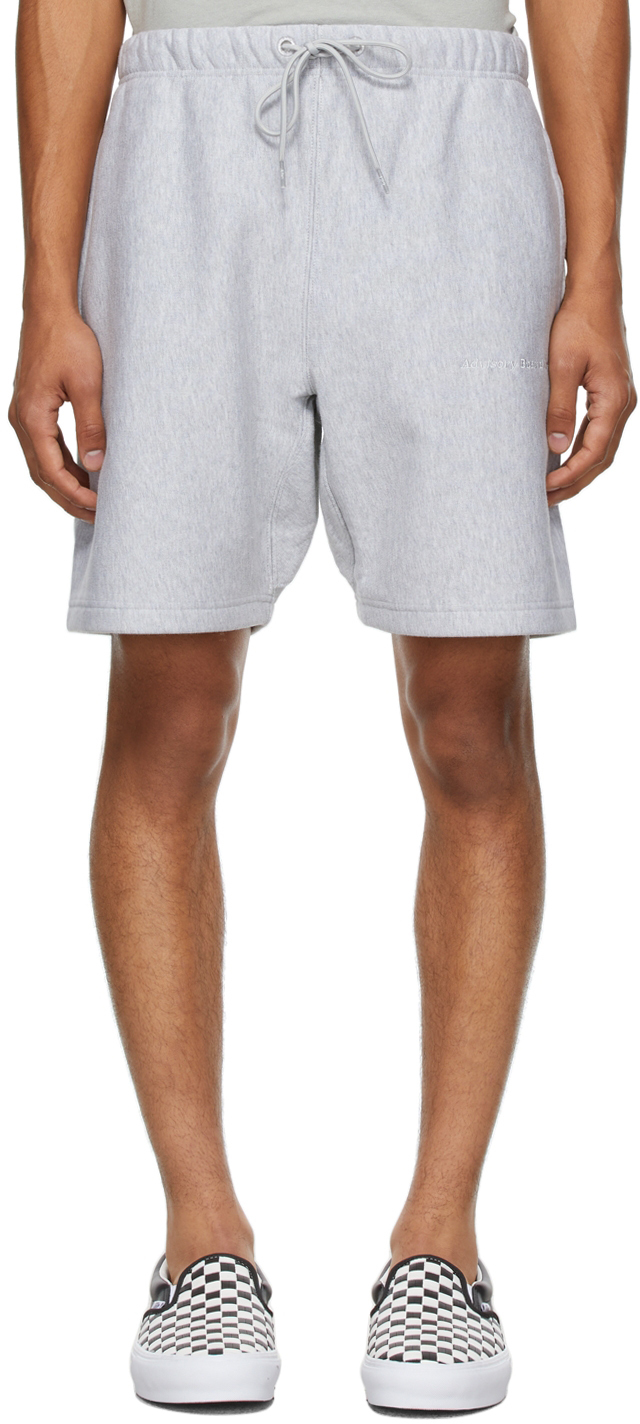 Grey 123 Shorts