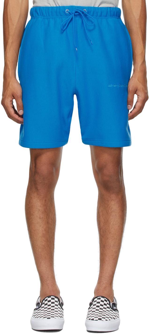 Blue 123 Shorts
