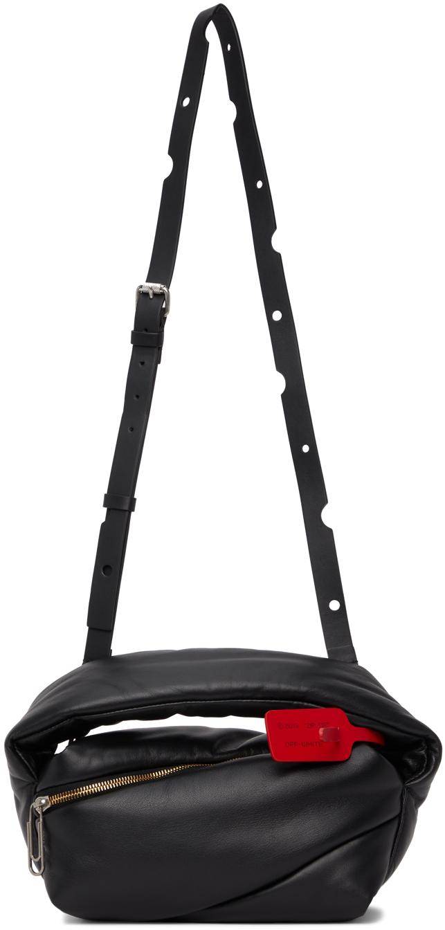 Black Pump Pouch Bag
