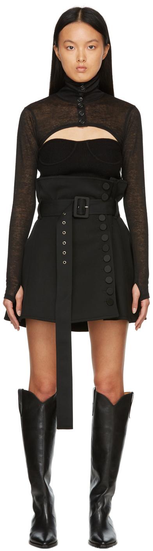 Black Emma Miniskirt