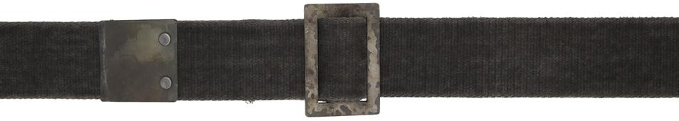 Grey Resin Dyed Belt