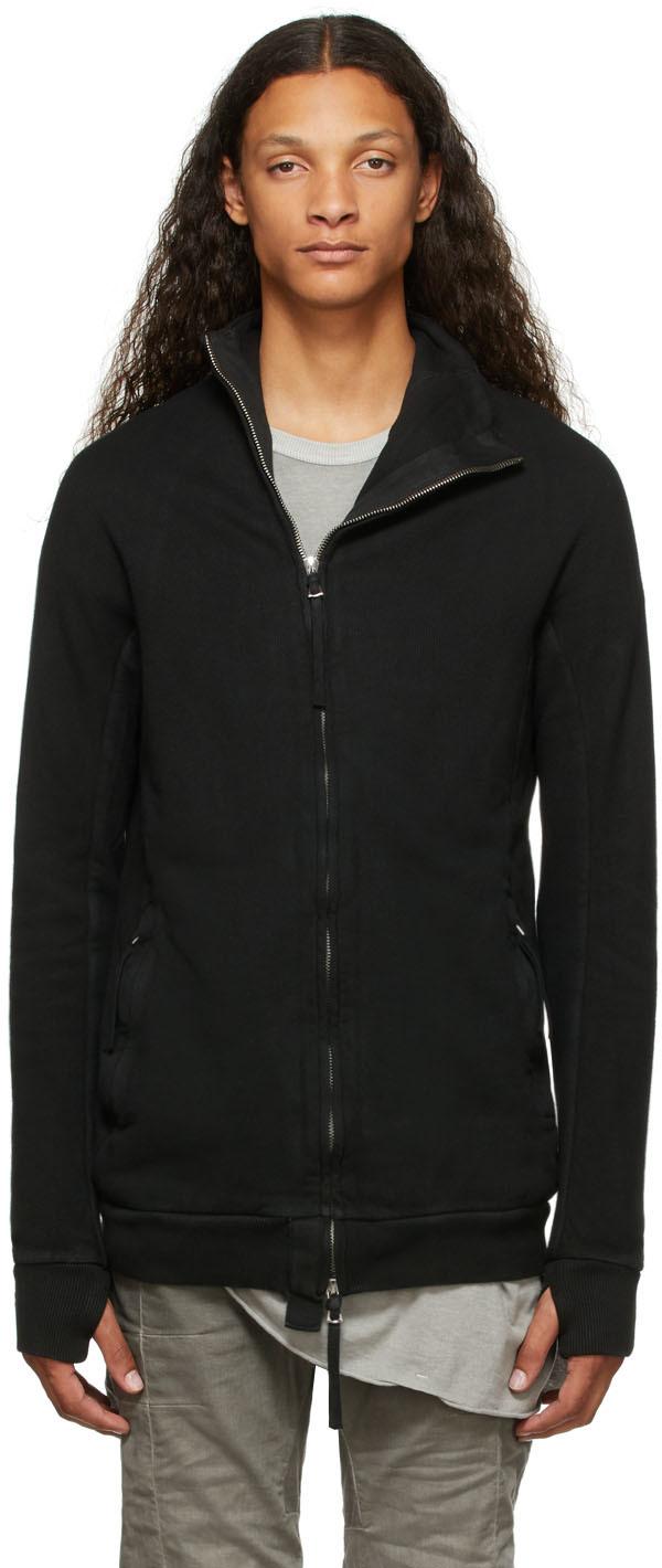 Black Vinyl-Coated Zipper1 Sweater