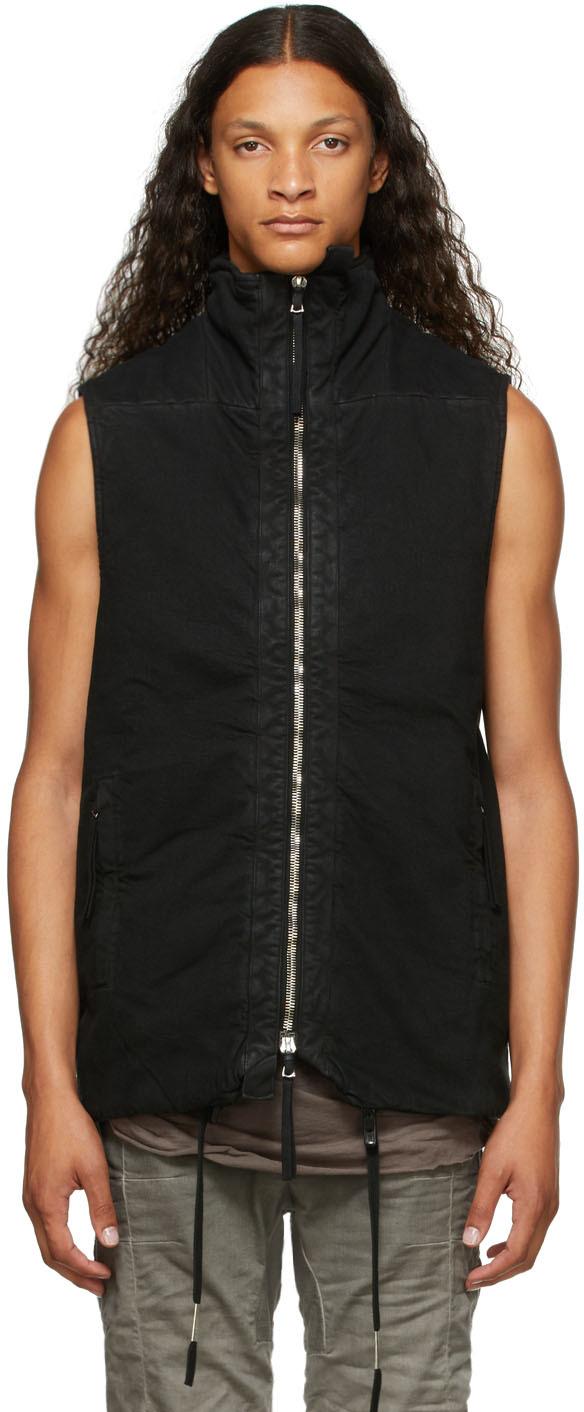Black Padded 5.1 Vest