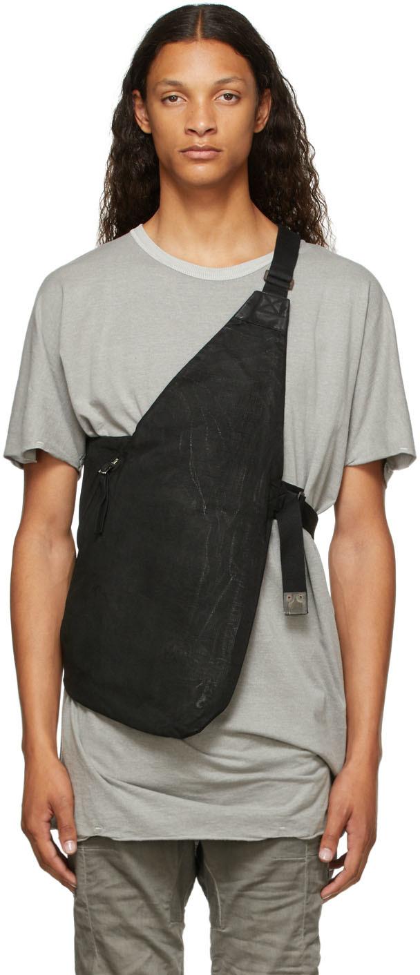 Black Canvas Bag 1.1 Vest