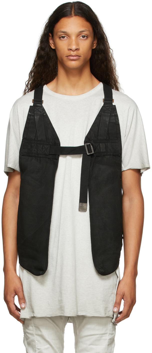 Black Canvas Bag 2.1 Vest