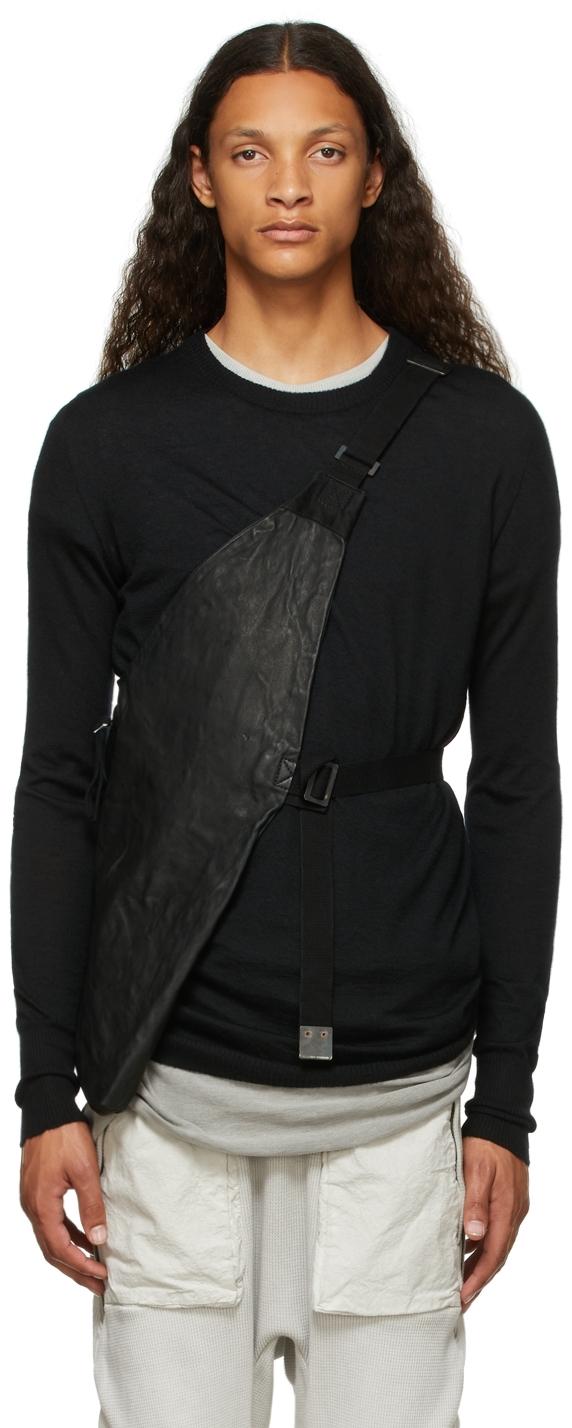 Black Leather Bag 1.1 Vest